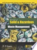 Elements of Solid & Hazardous Waste Management