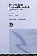The Emergence of Ecological Modernisation Pdf/ePub eBook