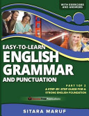 Easy to learn English Grammar and Punctuation