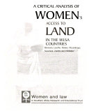 A Critical Analysis of Women s Access to Land in the WLSA Countries