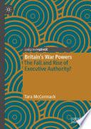 Britain S War Powers