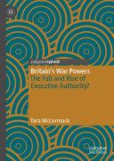 Britain's War Powers Pdf/ePub eBook