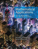 Mathematical Applications for the Management  Life  and Social Sciences   Webassign Multi term Printed Access Card Book