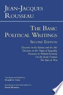 Rousseau The Basic Political Writings