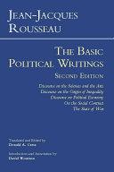 Rousseau: The Basic Political Writings Pdf/ePub eBook