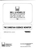 Bell   Howell s Index to the Christian Science Monitor