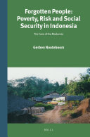 Forgotten People: Poverty, Risk and Social Security in Indonesia