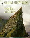 Student Study Guide  Elemental Geosystems Book