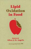 Lipid Oxidation in Food