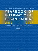 Yearbook Of International Organizations 2012 2013 Volume 4