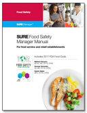 SURE Food Safety Manager Manual for Food Service and Retail Establishments
