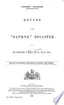 Report on the  Daphne  Disaster Book PDF