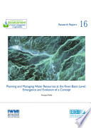 Planning and Managing Water Resources at the River basin Level
