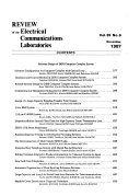 Review of the Electrical Communication Laboratories