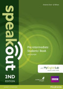 Speakout Pre-Intermediate 2nd Edition Students' Book for DVD-ROM and MyEnglishLab Pack