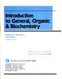 Introduction to General, Organic & Biochemistry