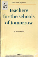 Teachers for the Schools of Tomorrow