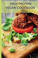 High Protein Vegetarian Cookbook