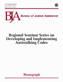Regional Seminar Series on Developing and Implementing Antistalking Codes