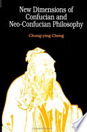 New Dimensions Of Confucian And Neo Confucian Philosophy Book PDF
