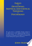 Fables for Developing Skeptical and Critical Thinking in Psychology