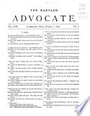 The Harvard Advocate Book PDF