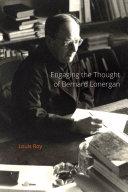 Pdf Engaging the Thought of Bernard Lonergan Telecharger