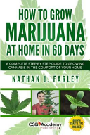 How to Grow Marijuana at Home in 60 Days