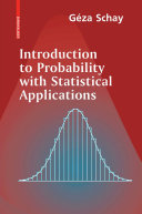 Introduction to Probability with Statistical Applications Pdf/ePub eBook