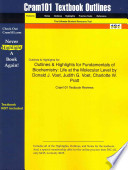 Outlines and Highlights for Fundamentals of Biochemistry