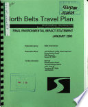 Helena National Forest  N F    North Belts Travel Plan