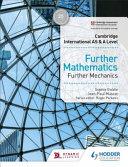 Books - Cam/Ie As & A Lev Mechanics Sb | ISBN 9781510421806
