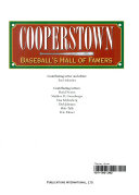 Cooperstown  Baseball s Hall of Famers