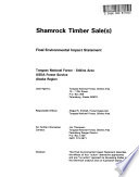 Tongass National Forest  N F    Stikine Area  Shamrock Timber Sales Book