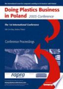 Doing Plastics Business in Poland 2005 Book