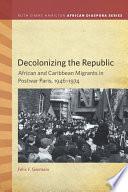 Decolonizing the Republic Book