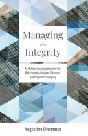 Managing with Integrity