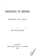 Principles of Reform