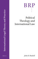 Political Theology and International Law