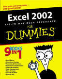 Excel 2002 All In One Desk Reference For Dummies