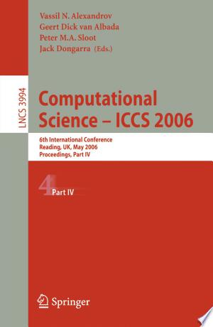 Download Computational Science - ICCS 2006 Free Books - Dlebooks.net