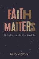Faith Matters Book