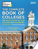 The Complete Book of Colleges 2021
