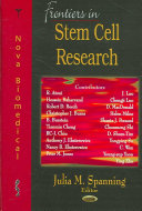 Frontiers in Stem Cell Research Book