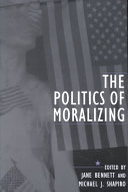 The Politics of Moralizing