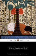 Writings from Ancient Egypt Pdf/ePub eBook