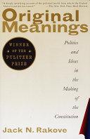 Original Meanings Book