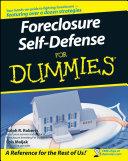 Foreclosure Self Defense For Dummies