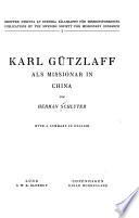 Karl Gützlaff als Missionar in China