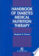 Handbook of Diabetes Medical Nutrition Therapy Book